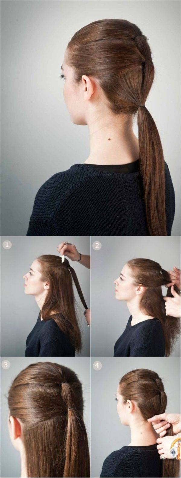 40 quick and easy back to school hairstyles for long hair