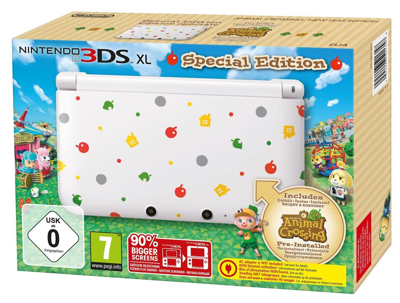 Console Nintendo 3DS XL + Animal Crossing: New Leaf