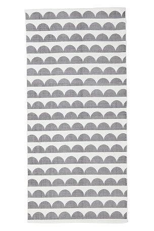 Ellos Home Joanna-matto, 70x150 cm Harmaa - Puuvilla- ja räsymatot | Ellos Mobile