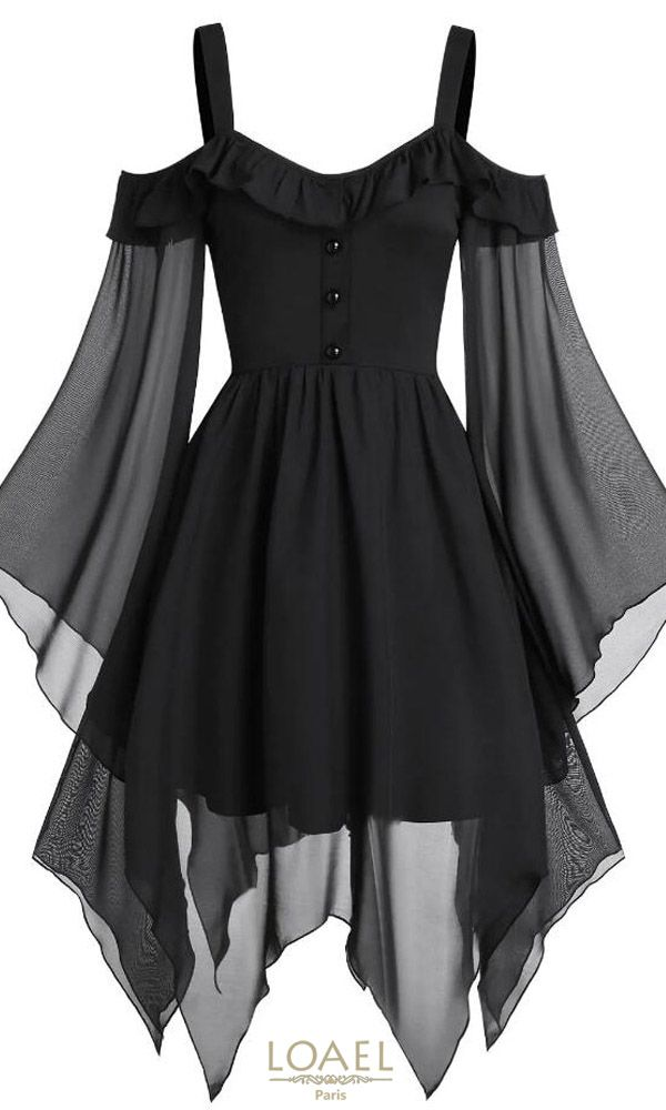 Gothic Dress Black and red – Dress