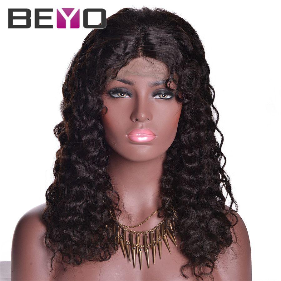 Glueless Full Lace Front Wigs Human Hair Brazilian Full Lace Wigs