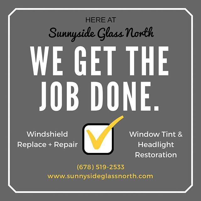 Windshield Replacement Quote Pleasing We Get The Job Done Right The First Time Sunnyside Glass North Give . Inspiration Design
