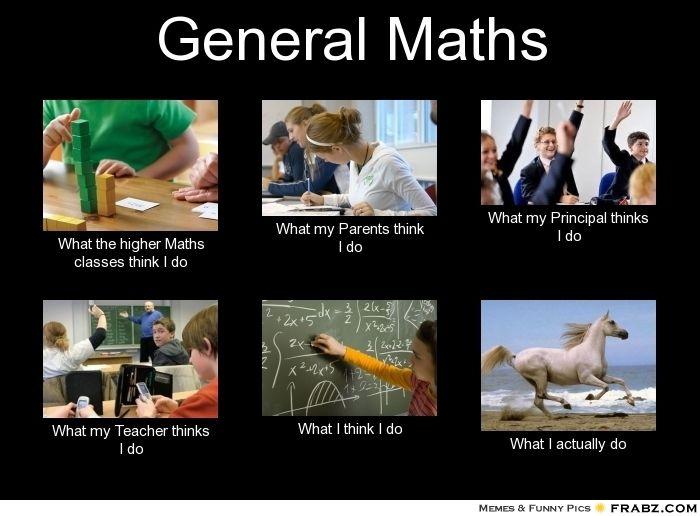 General Maths Math Humor Math Math Memes