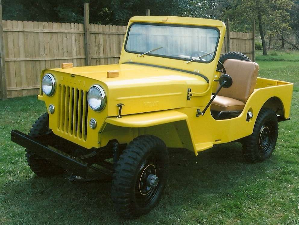 Dad's 1953 Willys CJ3B (With images) | Jeep, Willys, Willys jeep