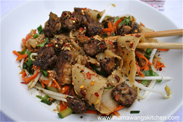 Hand-Pulled Biang Biang Noodles | Mama Wang's Kitchen