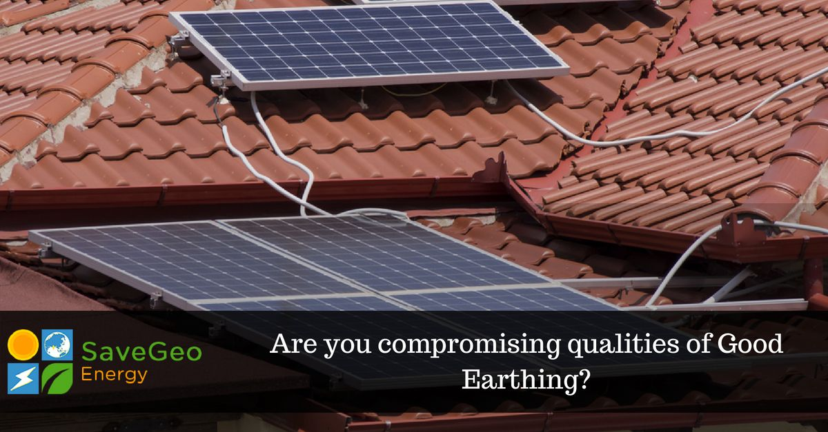 For Best Solar Pv Rooftop System The Installer Needs To Construct Using Superior Quality Of Strips Or Wires For Earthing Like Solar Solar Pv Solar Power House