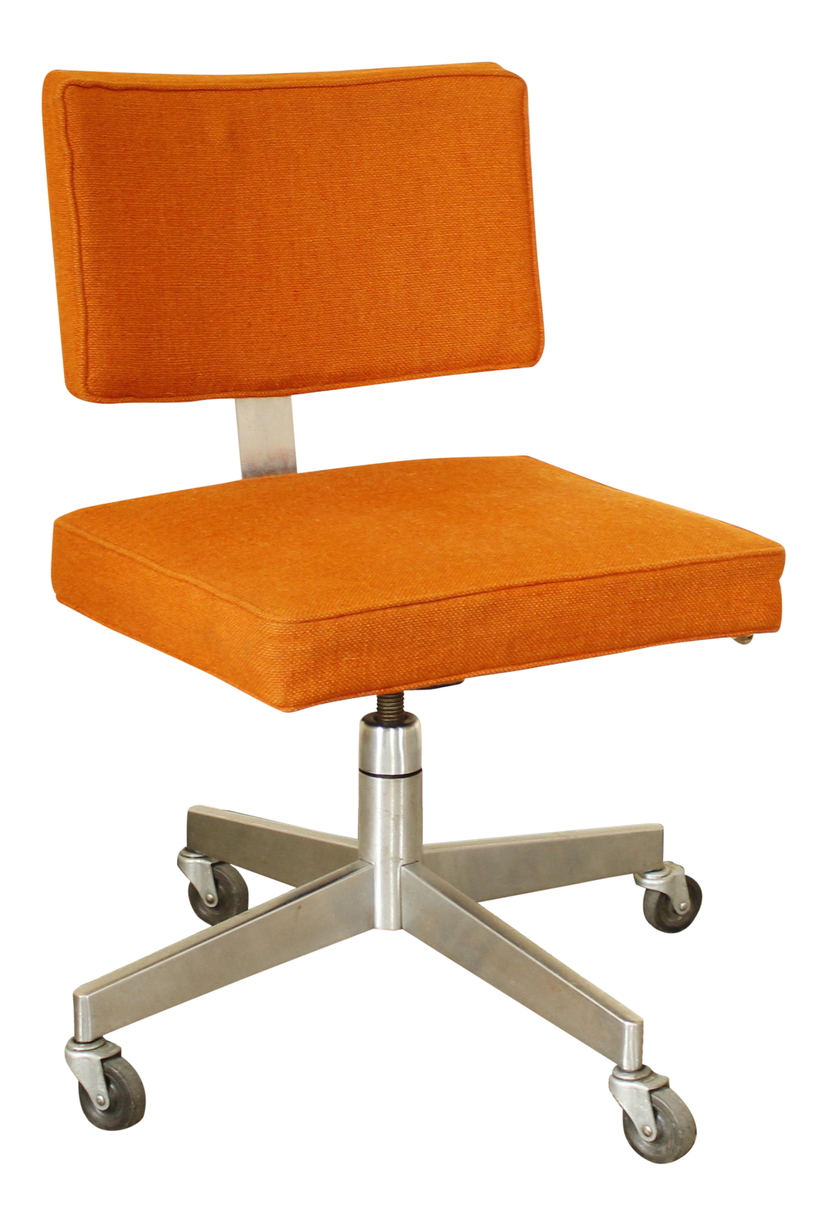 Fantastic Mid Century Modern Rolling Desk Chair Made By The Corry