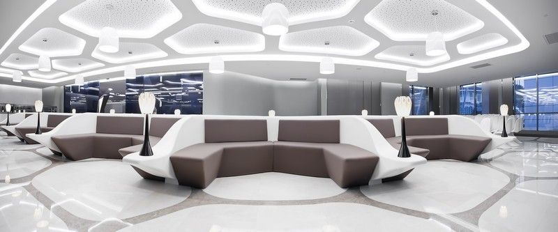 Liv Hospital Project Cafeteria Design By Zoom Tpu Hospital