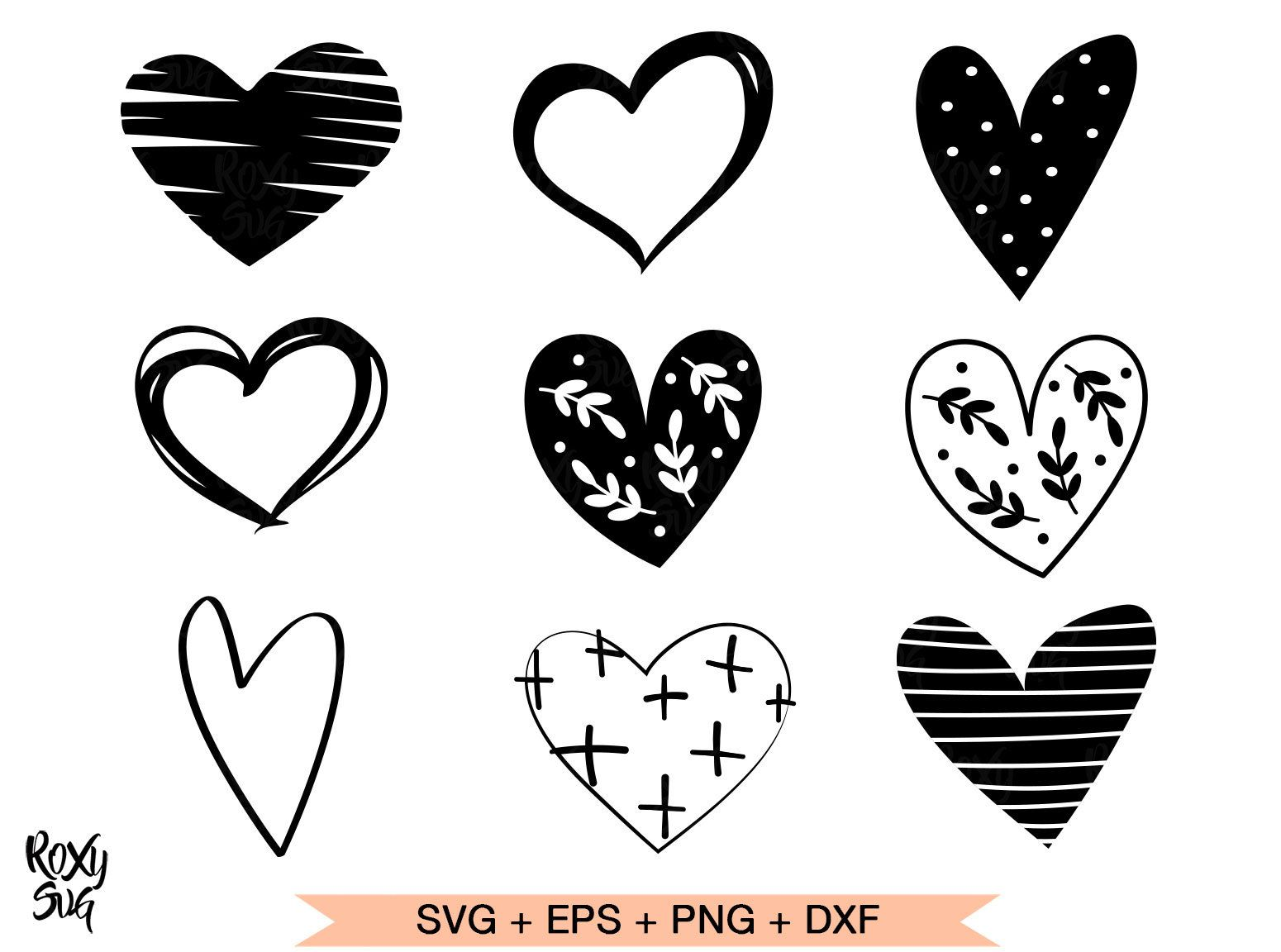 Heart Svg Hearts Svg Hearts Clipart Heart Shape Svg Hand Etsy In 2021 Valentine Svg Files Heart Hands Drawing Clip Art