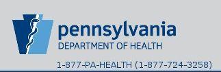 PA Dept of Health Public Death Records Online