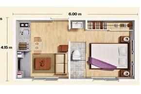 Caba a peque a casa minimalista y m s pines populares en for Mini casa minimalista