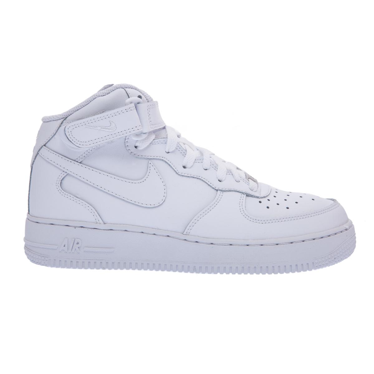 9ac880396bd NIKE – Παιδικά παπούτσια NIKE AIR FORCE 1 MID λευκά Παιδικά/Boys/Παπούτσια/
