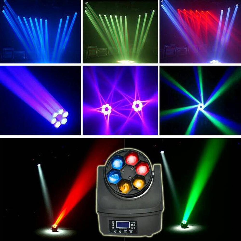 Mini 6x15w Led Moving Head B Eye Wash Light Pink Background Images Red Carpet Backdrop Dj Lighting