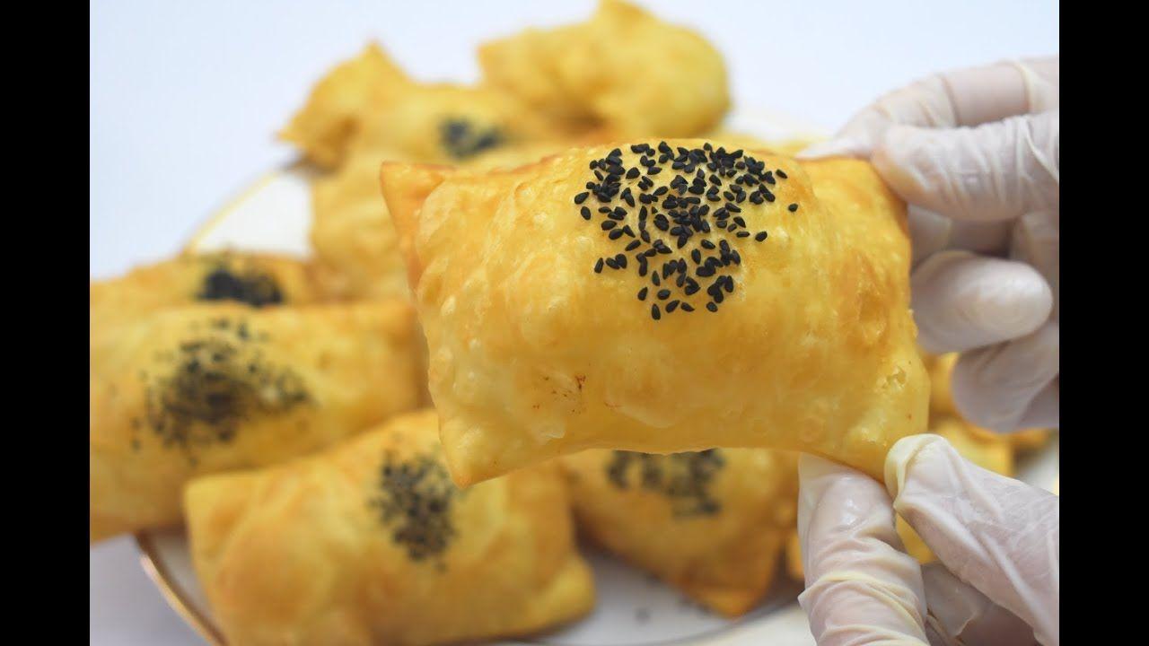 أسرع برك سمبوسك بثلاثة مكونات فقط 20دقيقة جاهزة للقلي مقرمشة بف بدون خمائر وبيض جربوها من اليوم Youtube Egyptian Food Cooking Recipes Food