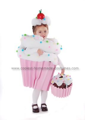Homemade Cupcake with Sprinkles Costume We have always called our daughter our little cupcake so I had to try to make her a Homemade Cupcake with ...  sc 1 st  Pinterest & Coolest Homemade Cupcake with Sprinkles Costume   Sprinkles ...