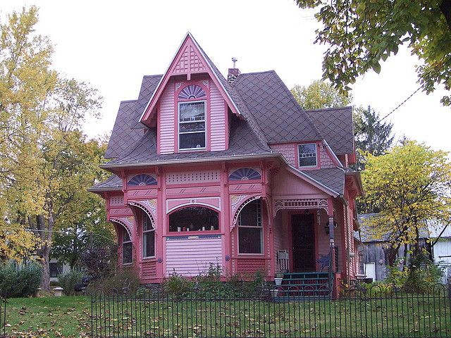 oh delaware county house architecture victorian queen anne rh pinterest com Old -Style House Old Country House