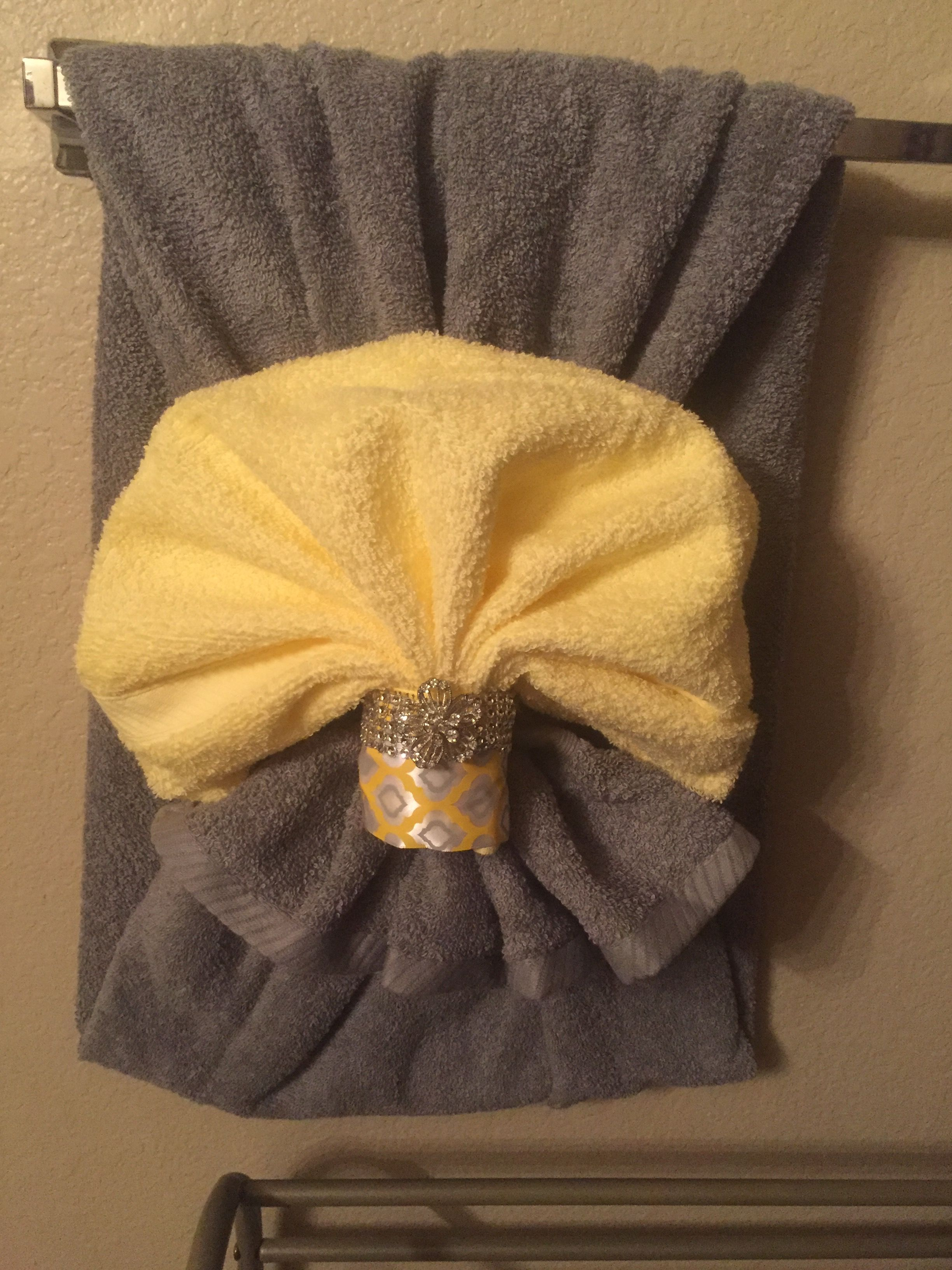 Towel Deco Bathroom Towel Decor Decorative Towels Fancy Towels
