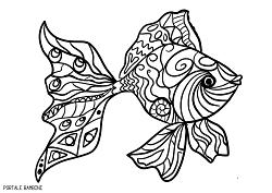 Disegni di pesci da stampare e colorare gratis portale for Disegni di pesci da colorare e stampare