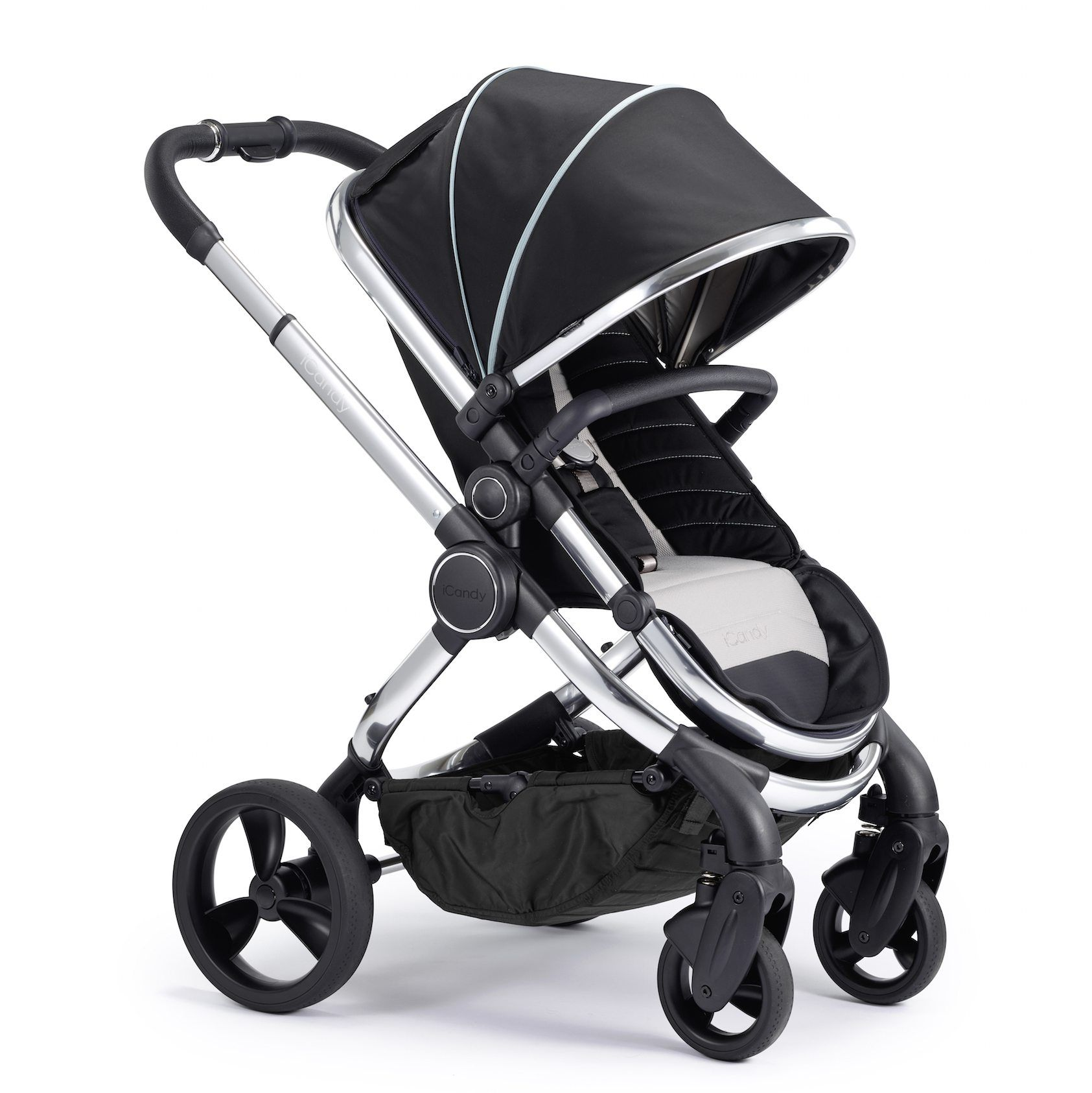 iCandy Peach Chrome Combo Set Beluga Single stroller