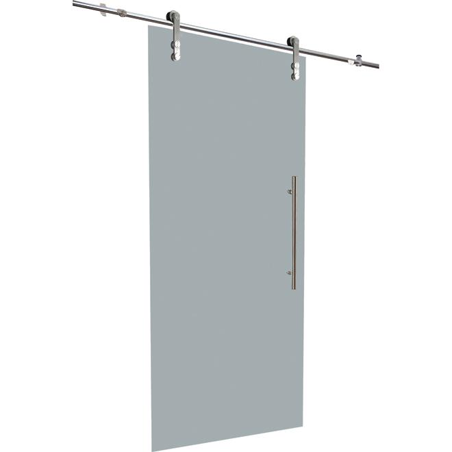 Glass Sliding Door With Rail 33 X 84 Sliding Glass Door