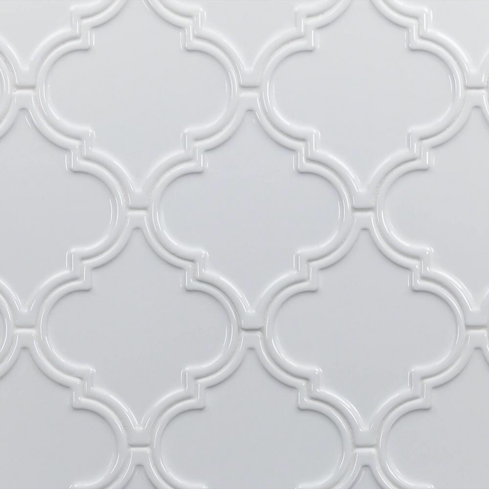 Ivy Hill Tile Vintage Lantern White 6 1 4 In X 7 1 4 In X 10 Mm Ceramic Wall Mosaic Tile 30 Piece 4 8 Sq Ft Box Ext3rd104642 Vintage Lanterns Ivy Hill Tile Mosaic Tiles