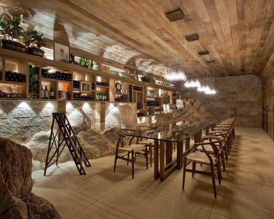Montain Home - contemporary - wine cellar - other metro - Eduarda