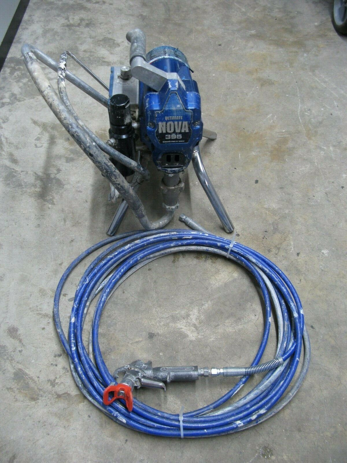 Graco Ultimate Nova 395 Electric Airless Paint Sprayer 495 595 Ebay In 2020 Paint Sprayer Sprayers Hvlp Paint Sprayer