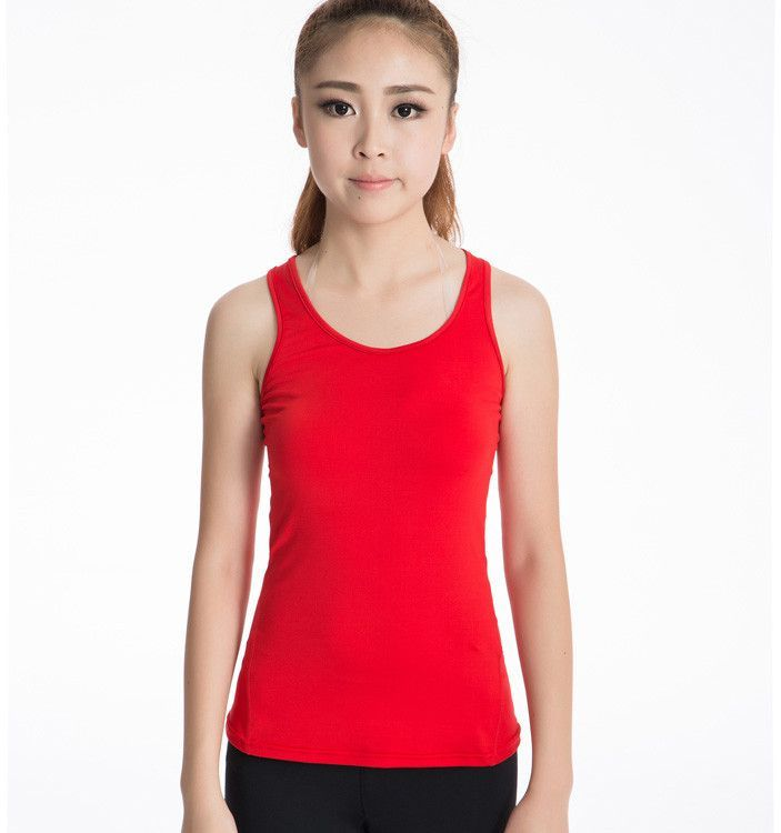 132cf5b09ba6c Women Sports Yoga Top Fitness Gym Tank sleeveless t shirts Female Dry Fit Sports  Shirts for Girl Fitness Tops Gym Yoga Shirt