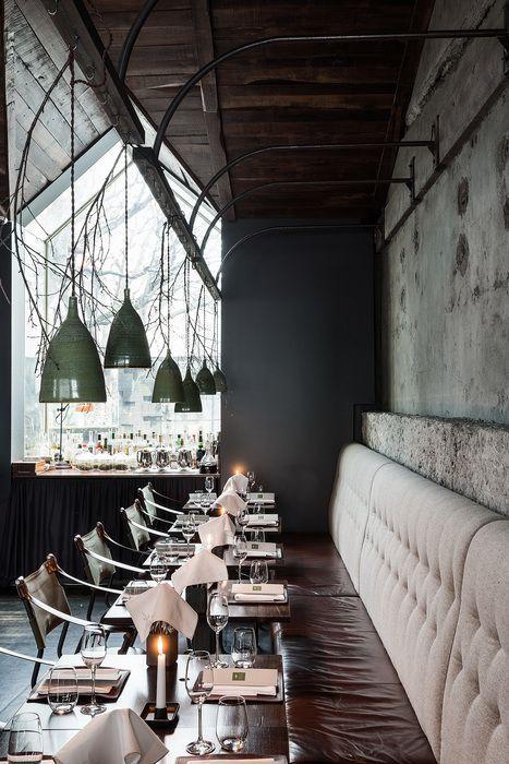 Dill Iceland Surface Interiors Restaurant Bar Design Awards