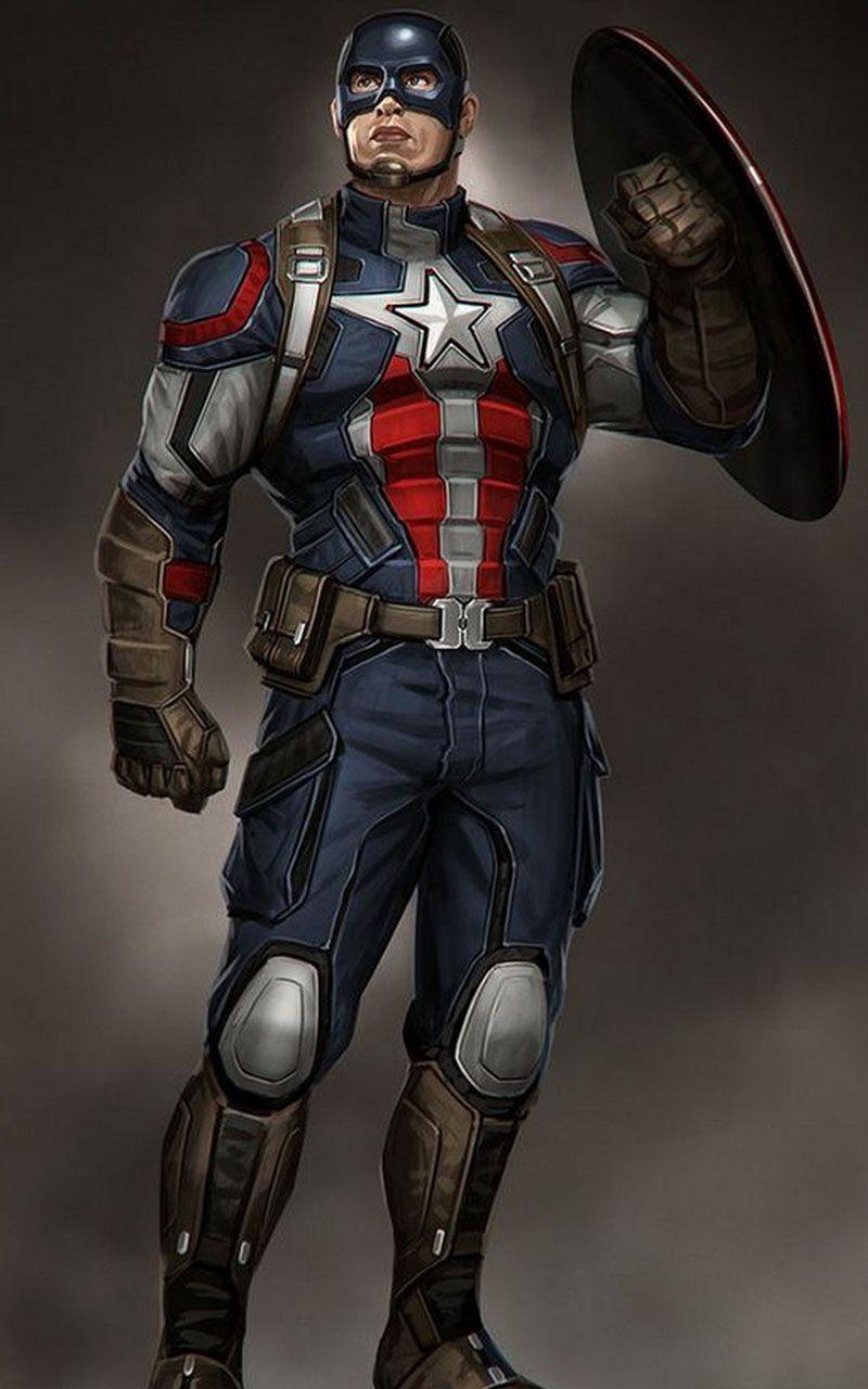 Captain America Wallpaper 4K Marvel, Captain america