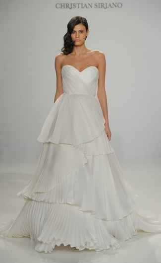 Christian Siriano Shows Fanciful French-Inspired Wedding Dresses for ...
