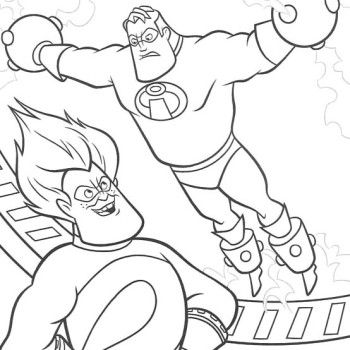 The Incredibles The Incredibles Frozone Coloring Pages The Coloring Pages Free Coloring Pages Coloring For Kids
