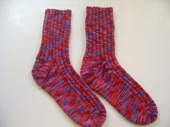 CUSTOM SOCK KNITTING - Women's Sizes - Hand Knitted Socks - Knitted Socks - Women's Knitted Socks - Sock Yarn - Opal Sock Yarn GSlMfy