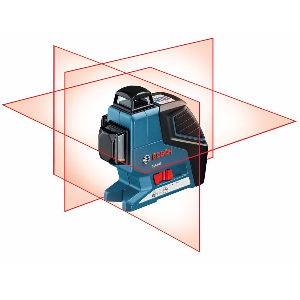 Bosch  Degree 3 Plane Leveling And Alignment Line Laser Level