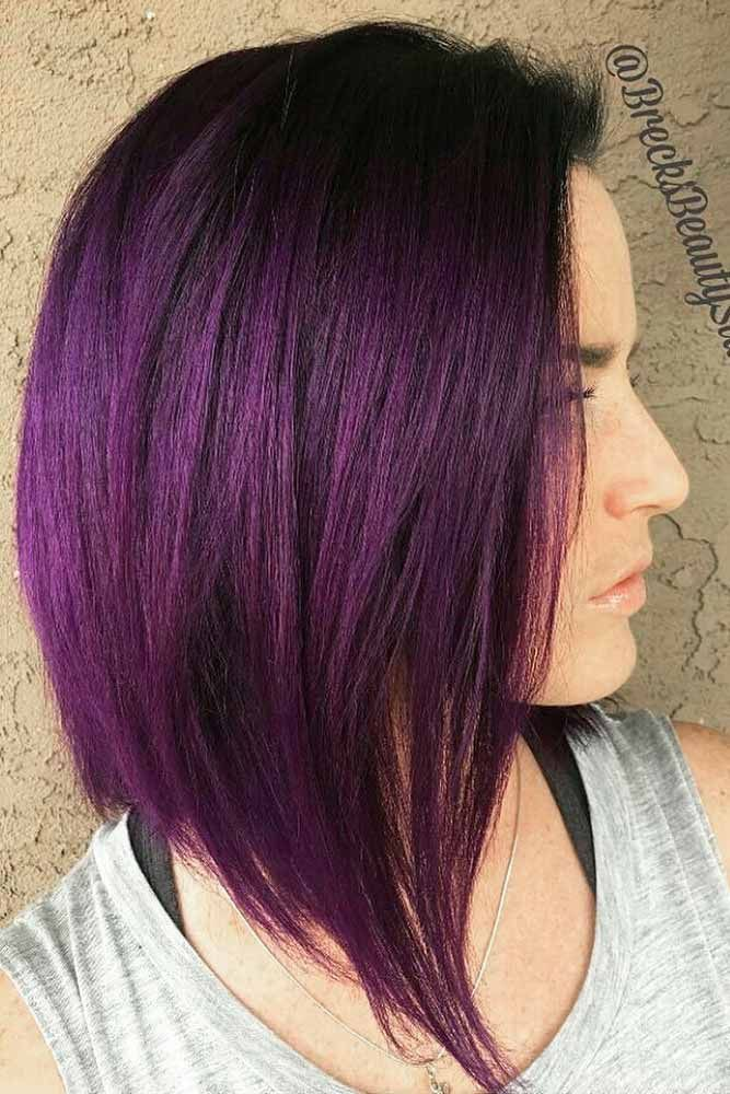 50 cosmic dark purple hair hues for the new image hair