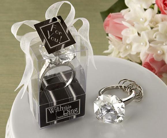 Llavero diamante de cristal