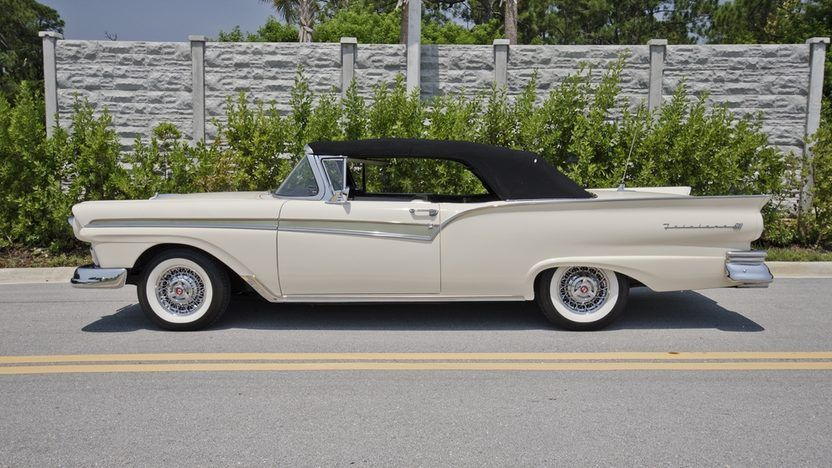 1957 Ford Fairlane 500 Sunliner Presented As Lot S26 At Boynton