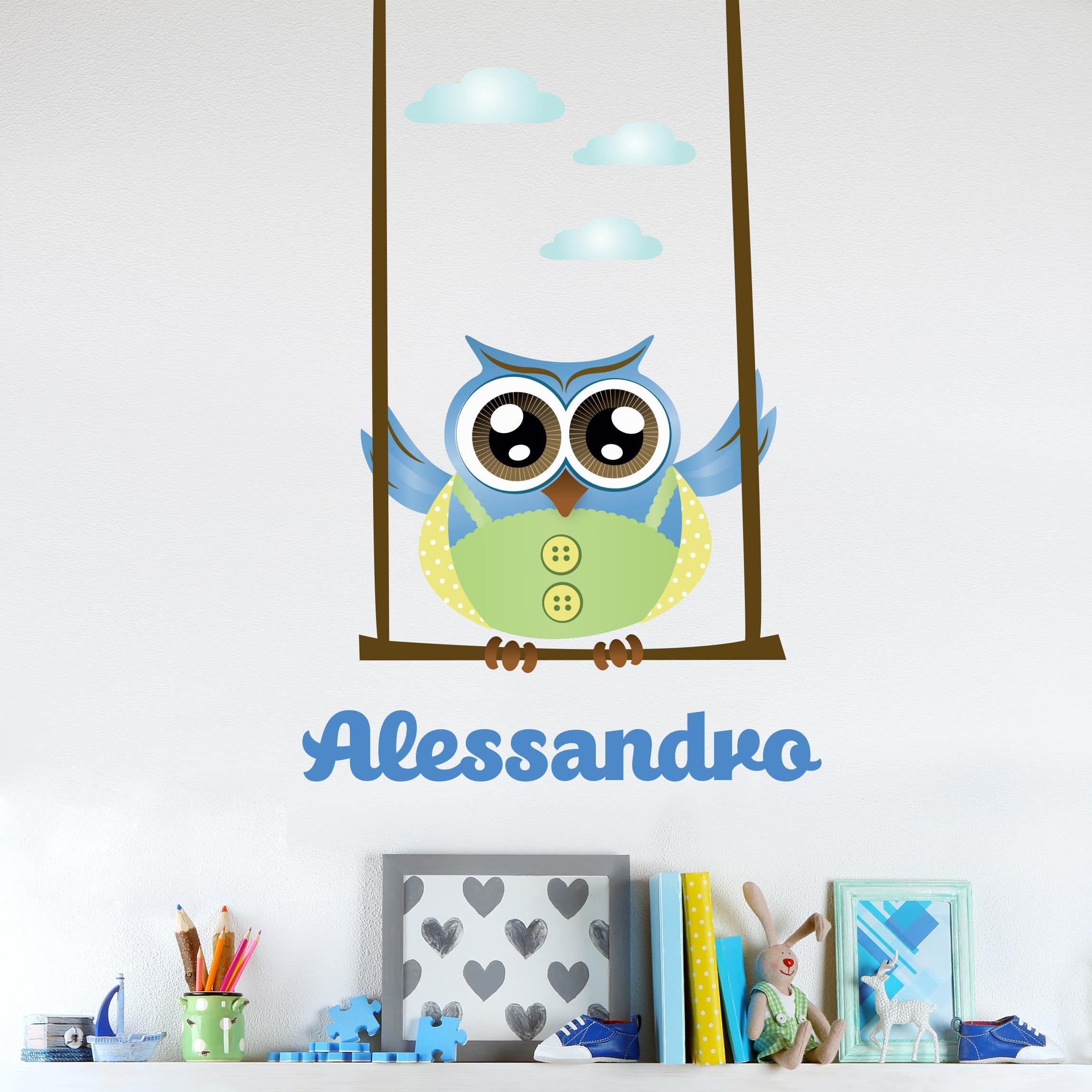 Adesivi Personalizzati Per Pareti.Pin Su Idee Per Camerette Bambini
