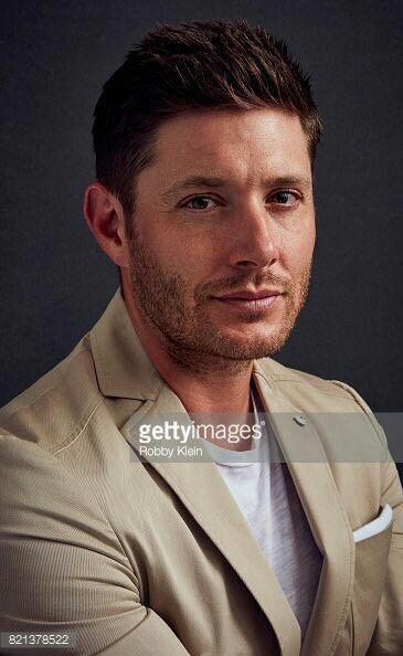 Jensen Ackles looking handsome and devilish all at the same time.