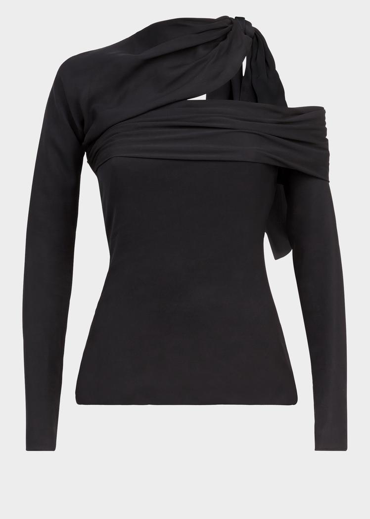 a6a19225af Asymmetric Crêpe Top for Women | Online Store EU in 2019 | TOPS ETC ...