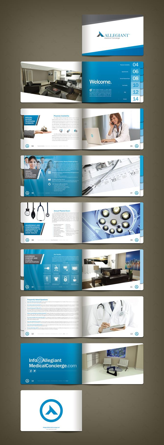 Allegiant Medical Concierge Brochure  Layout