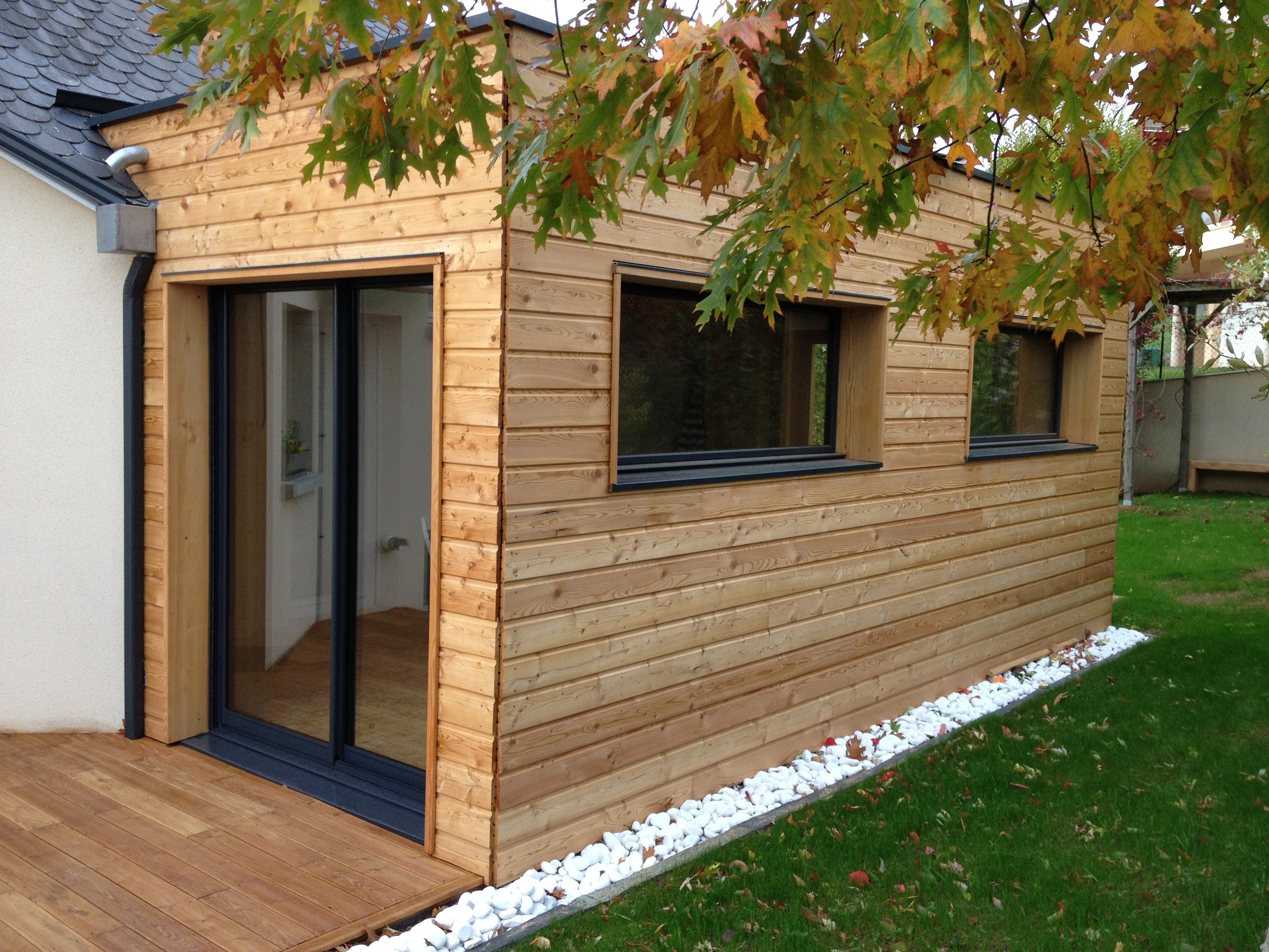 Les 25 meilleures id es de la cat gorie extension en bois for Extension maison pas chere