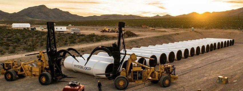 La carrera por construir el primer Hyperloop ha comenzado