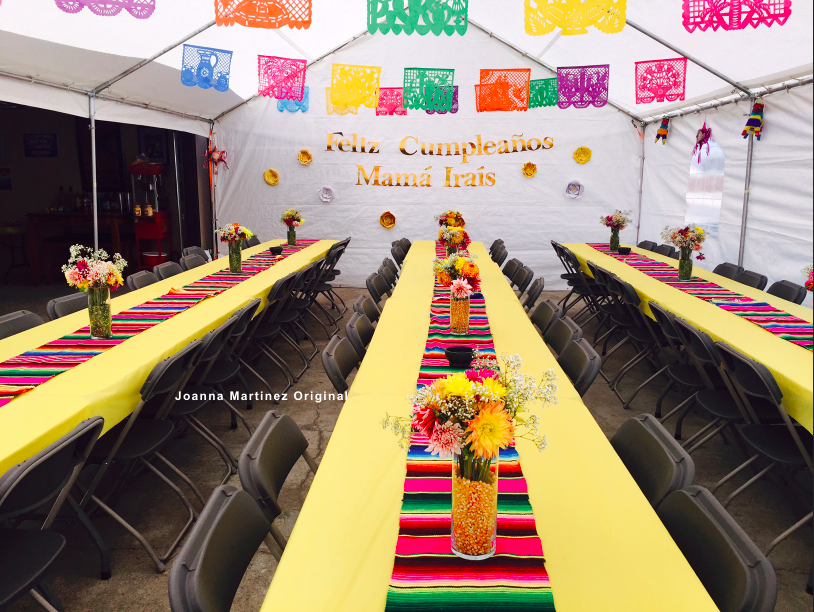 Mexican Themed Party/Fiesta Credit: Banners Mexican Party Store Plastic  Table Covers Roll