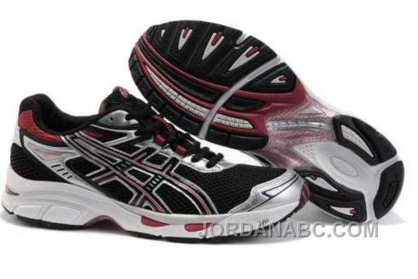 the latest 98543 7a642 Asics Gel-Virage 4 Mens T024N Black Red Sliver On Sale, Price   75.00 - Air  Jordan Shoes, New Jordans