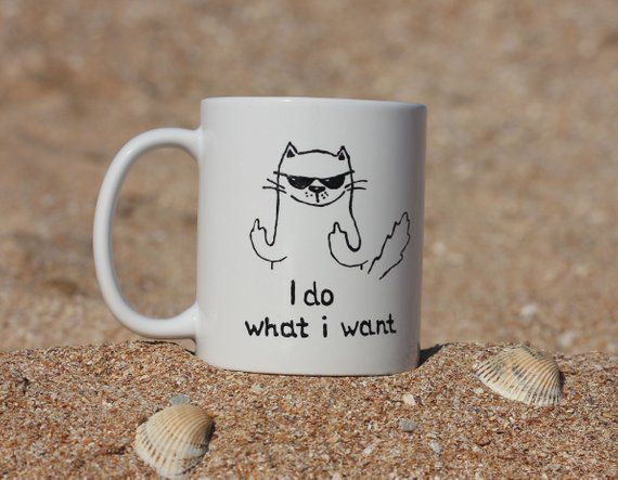 Birthday Cat Lady Cup Cat Lovers Gift Mug Personalised Cat Mug Funny Cat Mug