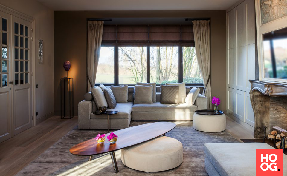 Woonkamer Ideeen Landelijk : Landelijke inrichting interieur ideeën woonkamer living room