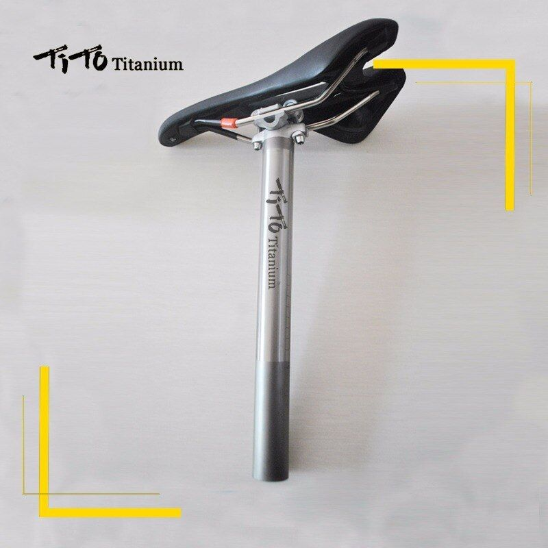 Tito Titanium Alloy Bike Seatpost For Mtb Road Bicycle Seat Post