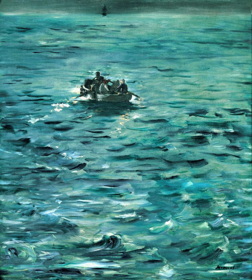 The Escape of Rochefort - 1881 - Edouard Manet