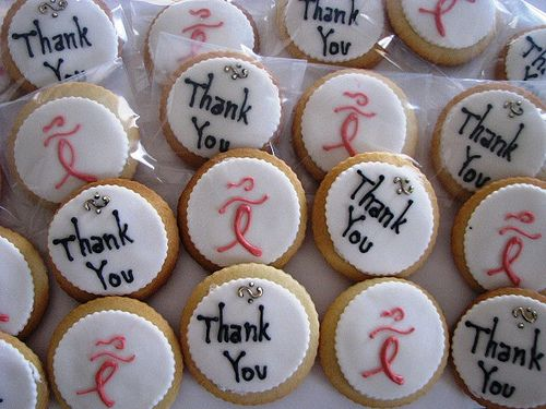 gallery of thank you cookies   power of pink thank you cookies 4